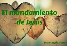 1 El mandamiento de Jesús