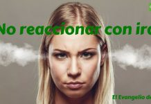 1 No reaccionar con ira