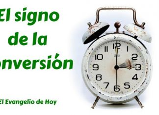 signo de la conversion