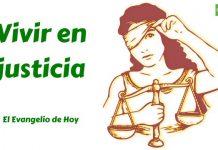 vivir en justicia