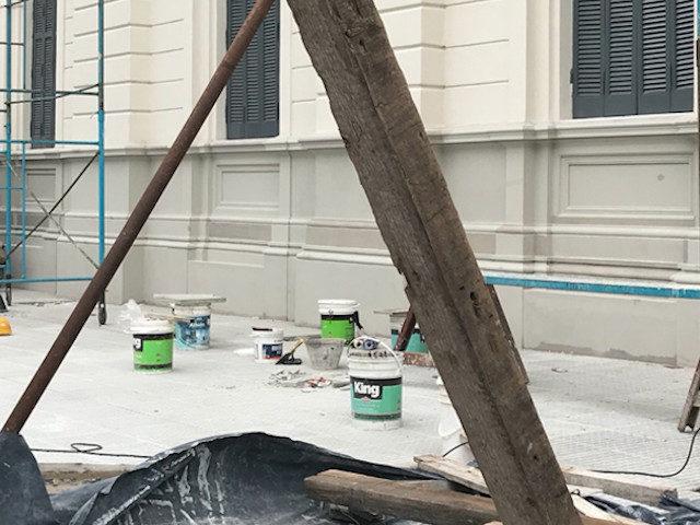 Pintura al latex en Casa de Gobieno
