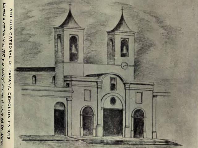 Antigua Catedral de Paraná
