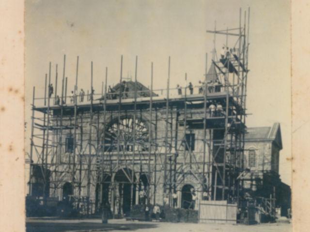 Construcción Templo Nogoya 1