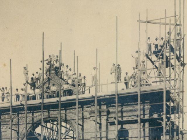 Construcción Templo Nogoya 2