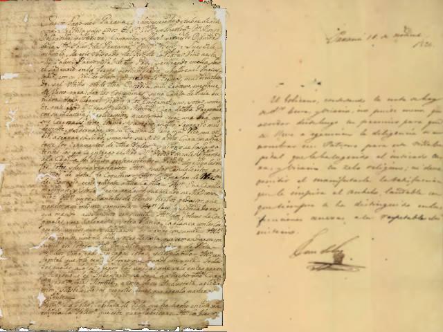 Informe de 1730 y del acto de elección