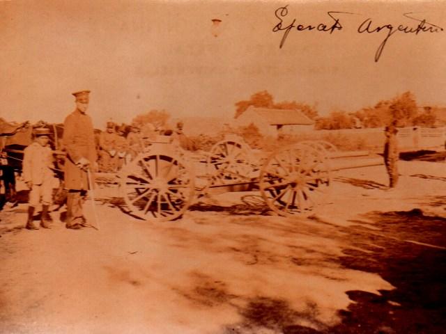 Ejercito argentino inicios siglo XX