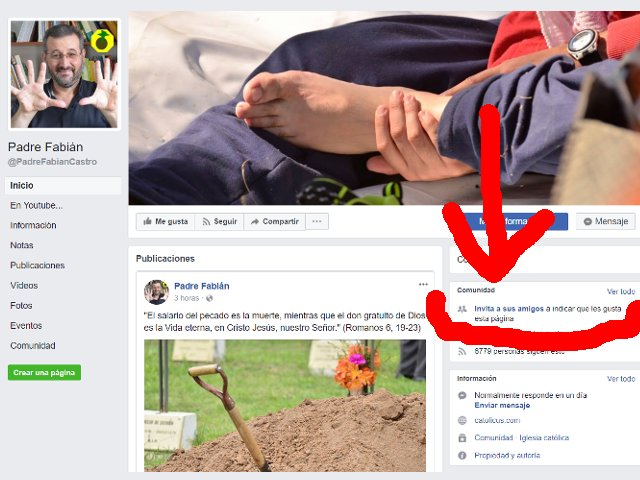 Evangelizar Facebook 3