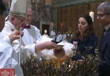 Francisco bautismo