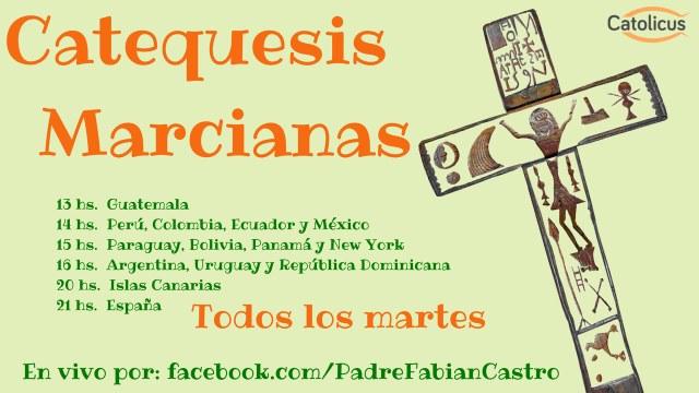 Horario Catequesis Marcianas
