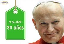 Juan Pablo II 30 años