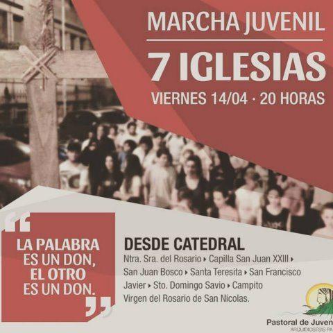 Marcha 7 Iglesias 2017