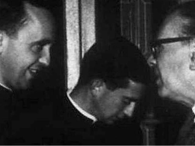 Bergoglio y Borges en Santa Fe