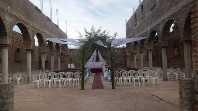 Primer casamiento templo nuevo Oro Verde 1