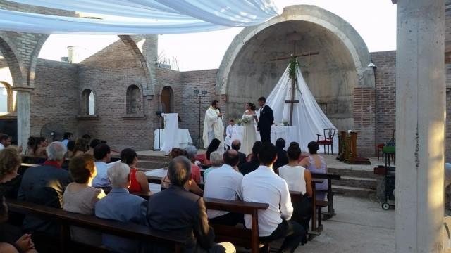 Primer casamiento templo nuevo Oro Verde 2