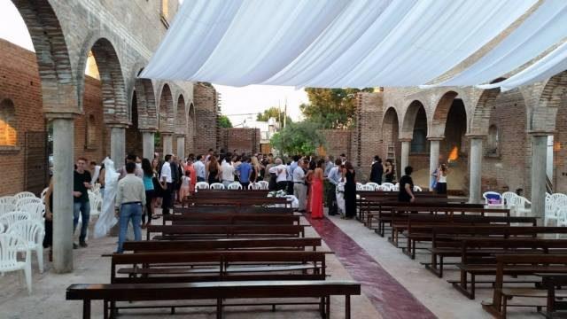 Primer casamiento templo nuevo Oro Verde 3