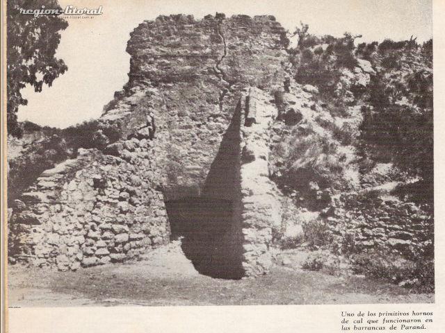Antigüo horno de cal