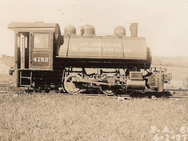Locomotora calera