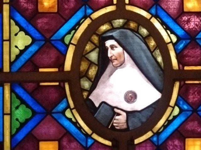 Vitral Madre Catalina