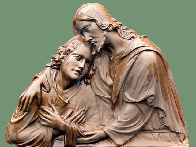 Jesús y el discípulo amado