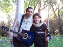 guitarra en Misa