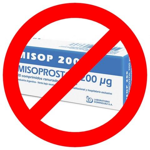 prohiben misoprostol en Argentina