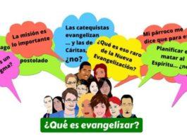 presentación del curso que es evangelizar